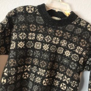 Vintage wool Benetton made in Italy sweater